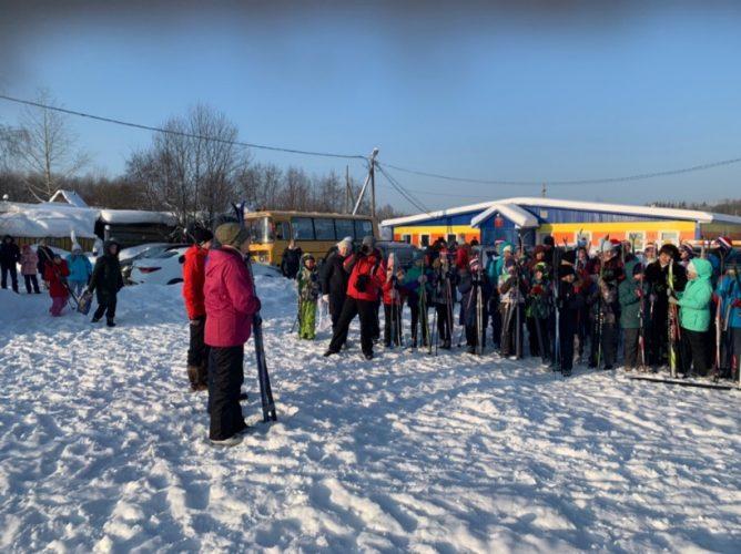 XXXVII Всероссийская массовая гонка «Лыжня России»